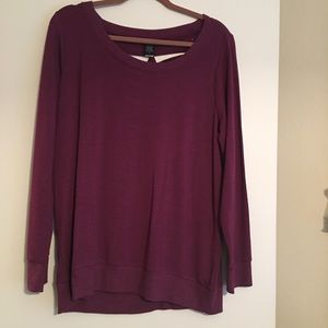 Purple torrid sweater